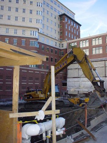 The Bryant on Columbus Boston Condos Construction