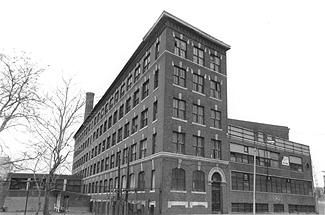 Original Boston Court Square Press Building
