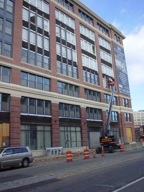 285 Columbus Lofts Construction Photos