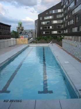 Macallen Building Lap Pool