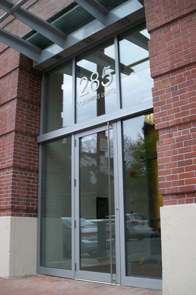 285 Columbus Lofts Entrance