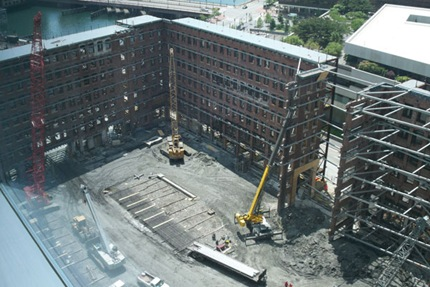 Russia Wharf Construction