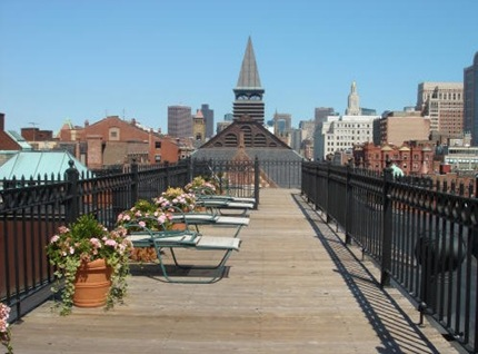 Prince Newbury Street Common Roofdeck