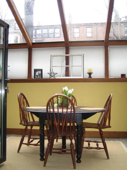 347 Marlborough Street Sun Room