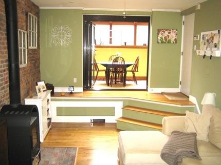 347 Marlborough Street Living Room