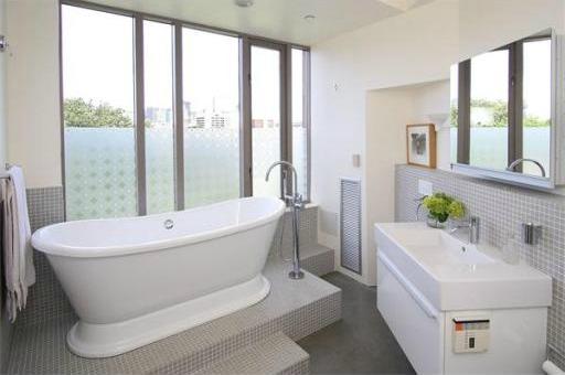 South End Boston Luxury Bathroom