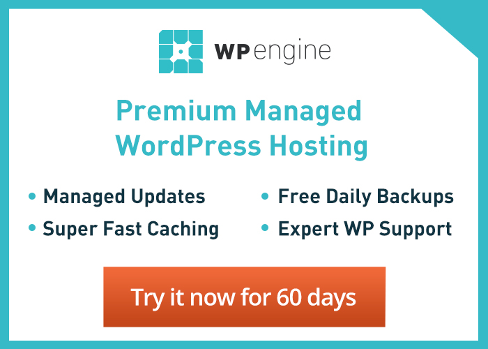 WP Engine WordPress Hosting for Real Estate - Free Trial