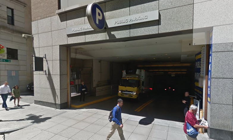Boston Ritz Carlton Parking Garage Entrance