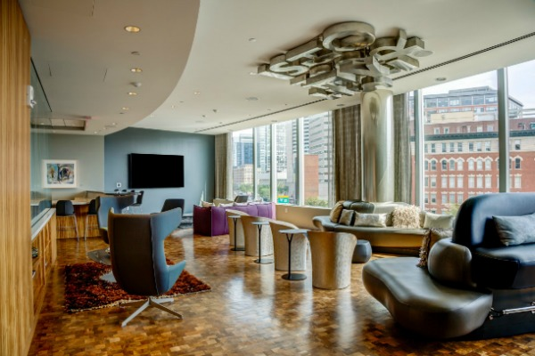 Radian Lounge | Boston Rental Apartments